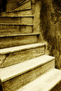Old Italian stairway Royalty Free Stock Images