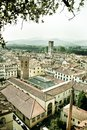 Old Italian Town Panorama Royalty Free Stock Photography