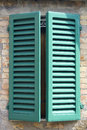 Old italian window Royalty Free Stock Photo