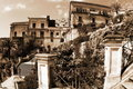 Old Italy, Modica city, Sicily Stock Images