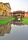 Old japanese bridge in Hoi An Royalty Free Stock Photo