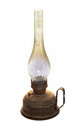 Old kerosene lamp Royalty Free Stock Photo