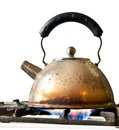 Old kettle Stock Image