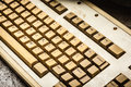 stock image of  Old keyboard