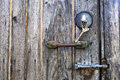 Old Keys, Lock, Latch and Handle Royalty Free Stock Photos