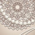 Old lace background Royalty Free Stock Image