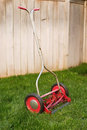 Old lawnmower Royalty Free Stock Image