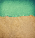 Old leather texture background pattern and vintage torn paper Stock Photos