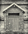 Old letterbox at a front door Royalty Free Stock Image