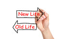 Old Life or New Life Royalty Free Stock Photo