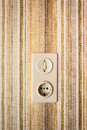 Old light switch Royalty Free Stock Photo