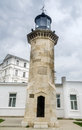 The old lighthouse called farul genovez genovese lighthouse build in year from constanta romania Stock Image