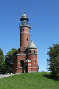 Old lighthouse of Kiel Holtenau Royalty Free Stock Images