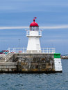 Old lighthouse, Sweden Royalty Free Stock Photo