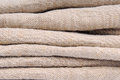 Old linen ancient fabric texture Royalty Free Stock Image