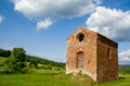 Old little church in tuscany an abandoned somewhere italy Royalty Free Stock Photos