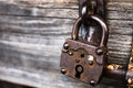 Old lock Royalty Free Stock Photo