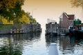 Old Locks In Hoorn, Holland