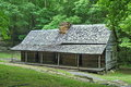 Old log cabin in smoky mountains rustic original mountain national park Royalty Free Stock Images