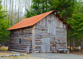 Old log home Royalty Free Stock Photography