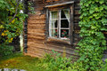 Old log house Stock Photo
