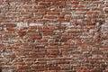 Old long narrow bricks Royalty Free Stock Photo