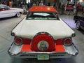 Old luxury americas car motor show international prague festival on august czech republic Stock Image