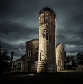 The Old Mackinaw Point Lighthouse In Michigan Royalty Free Stock Photo