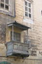 Old Maltese balcony Royalty Free Stock Images