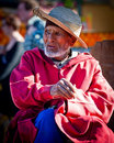 Old man in marrakesh 2 Stock Images