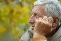 Old Man At Nature