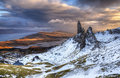 The Old Man of Storr Royalty Free Stock Photo