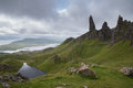 Old Man of Storr, Isle of Skye, Scotland Royalty Free Stock Photo