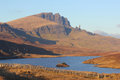 Old Man of Storr, Skye, Scotland Royalty Free Stock Photo