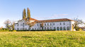 Old manor coutryside of Veneto in Italy Royalty Free Stock Photo
