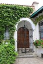 Old Mansion oin Biarritz Royalty Free Stock Photo