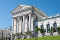 The old mansion of the 18th century - the Pashkov House. Currently, the Russian State Library in Moscow Royalty Free Stock Photo