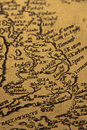 Old map of Britain