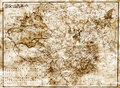 Old map of China Royalty Free Stock Photo
