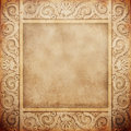 Old marble frame Royalty Free Stock Photo