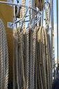 Old marine rope Royalty Free Stock Photo