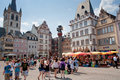 Old Market square in Trier, Germany Royalty Free Stock Photos