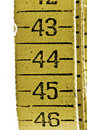 Old measuring tape Royalty Free Stock Photo