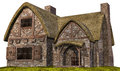 Old medieval cottage Royalty Free Stock Photo
