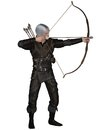 Old Medieval or Fantasy Archer Stock Image