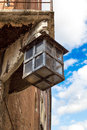 Old medieval street lantern Royalty Free Stock Photo
