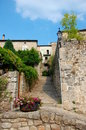 Old medieval village in ardeche france ardèche is a department south central named after the ardèche river Royalty Free Stock Photos