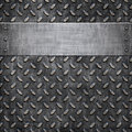 Old metal background texture Stock Images
