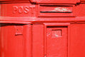 Old metal mail box Royalty Free Stock Photos