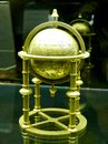 stock image of  Old Middle Eastern globe on display at Istanbul Museum of the History of Science and Technology in Islam in Turkey